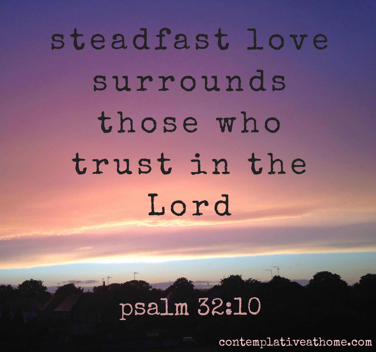 psalm 32.10